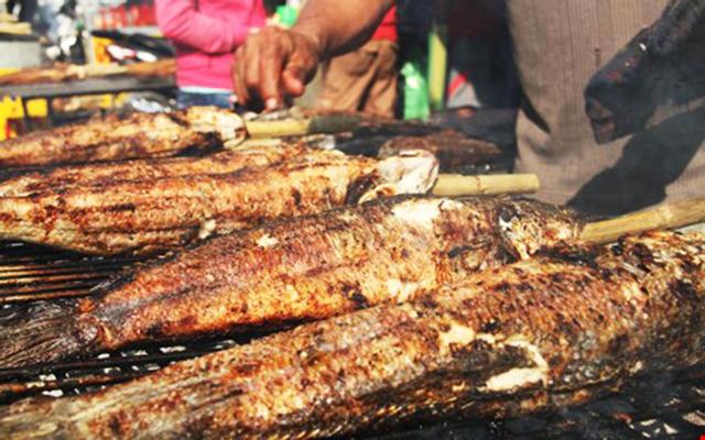 Cá Lóc Nướng Thái Mập ở Đồng Tháp