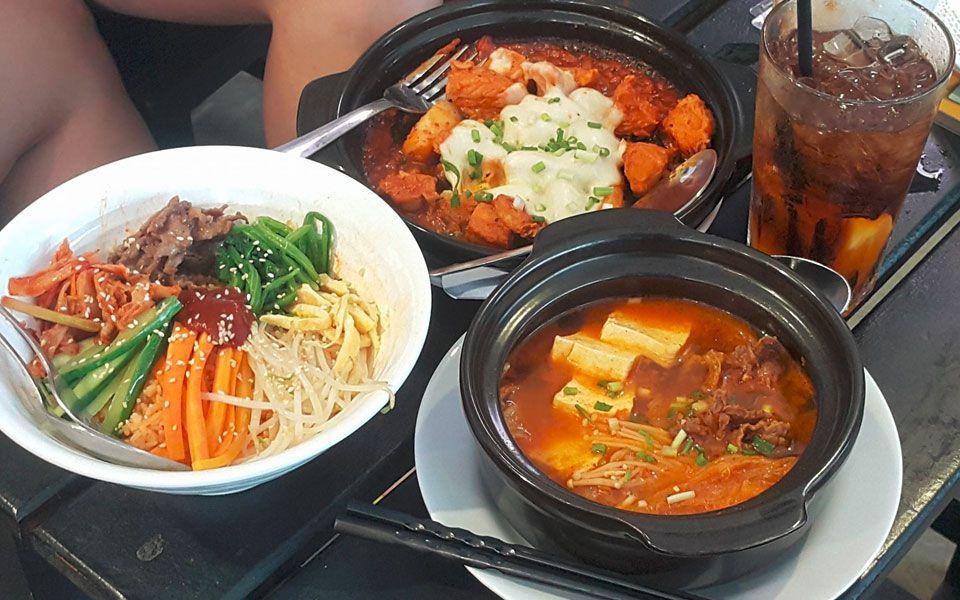 Hẻm Fast Food - Món Hàn Quốc