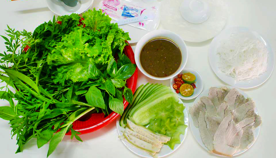 Táo Xanh Quán - Bánh Tráng Cuốn Thịt Miền Trung - Shop Online