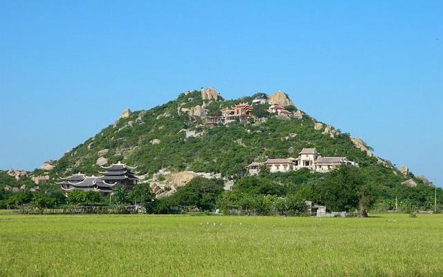 Núi Đá Chồng ở Ninh Thuận