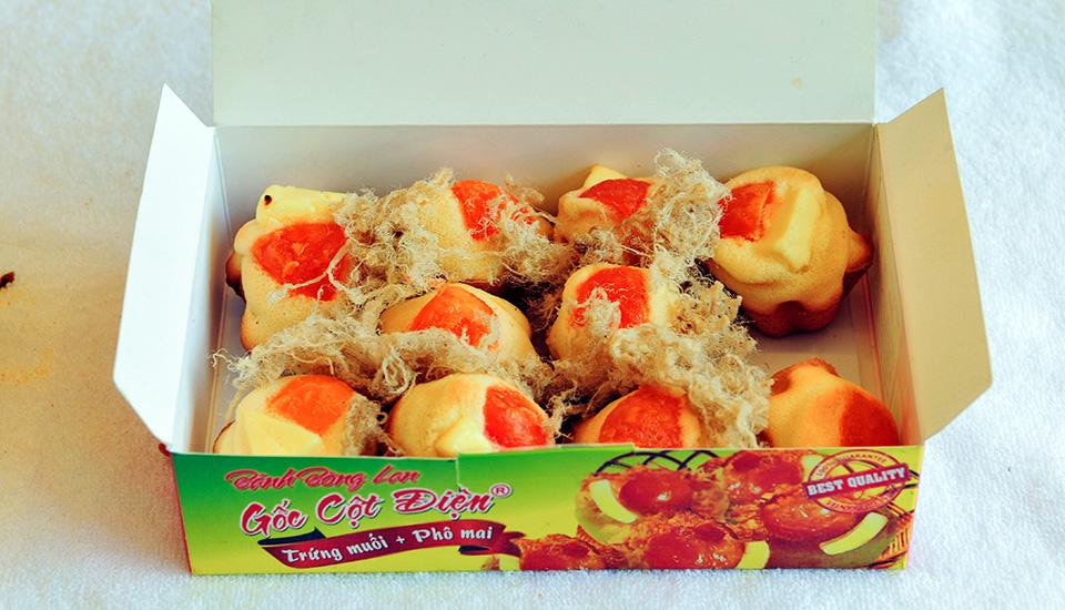 Bánh Kẹp Gốc Cột Điện - Bánh Bông Lan Trứng Muối ở Tp. Vũng Tàu, Vũng Tàu   Foody.vn