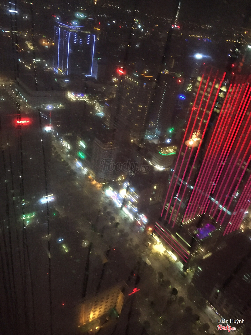 phố đi bộ nhìn từ trên cao
