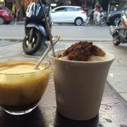 Cafe trứng và sữa chua dẻo