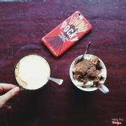 Cacao trứng và sữa chua dẻo