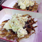 Gaufre blueberry and chantilly