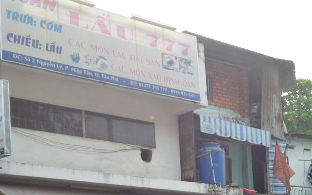 Quán lẩu 777 - Nguyễn Lý Tân Phú ở TP. HCM
