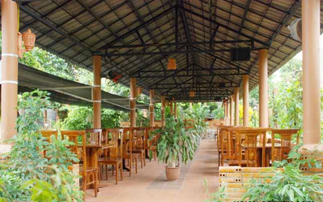 Cafe Ngõ Vàng Quỳ - Sân Vườn Lãng Mạn ở Đắk Lắk