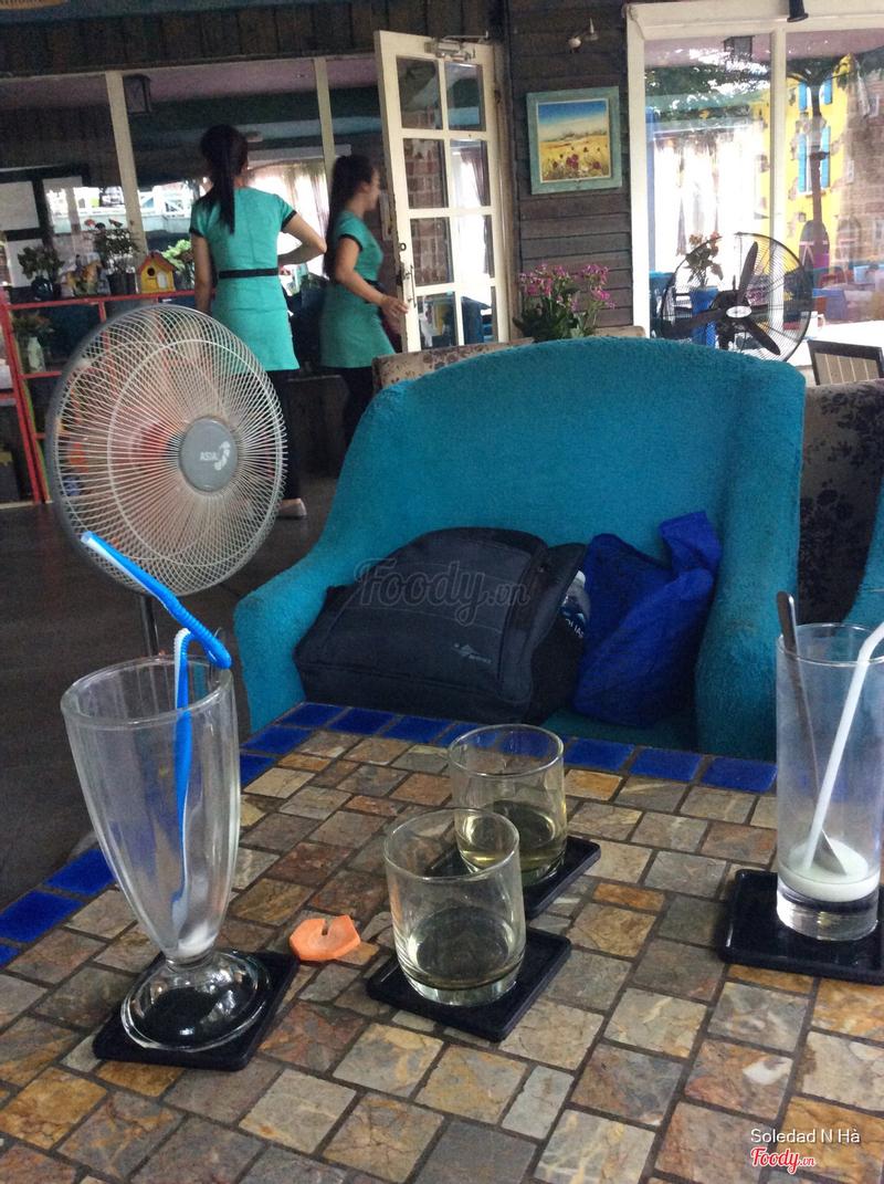 Nhân viên ko thiếu mà nhìn 2 ly trà như muốn đuổi khách. Thất vọng với 1 quán view đẹp như vầy.