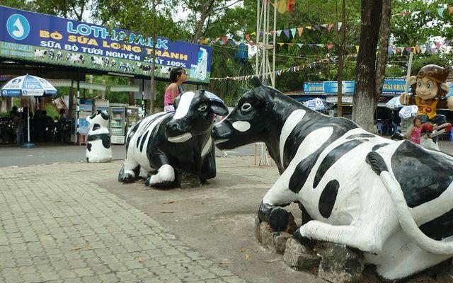 Trạm Dừng Chân Bò Sữa Long Thành ở Đồng Nai