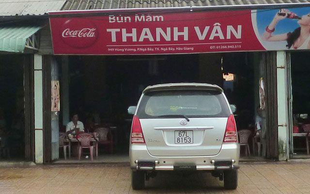 Thanh Vân - Bún Mắm ở Hậu Giang