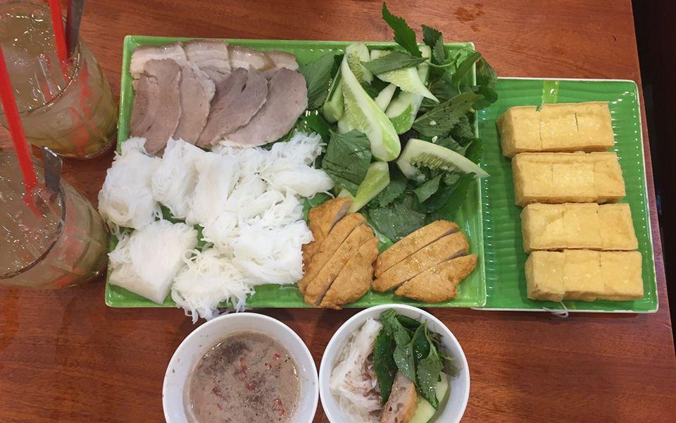 Bún Đậu Cầu Gỗ - Phan Xích Long