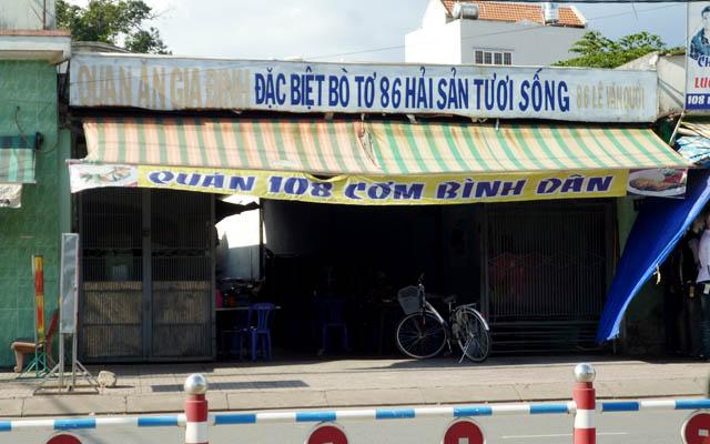 Quán 108 - Cơm bình dân, Bò Tơ 86, Hải sản tươi sống ở TP. HCM