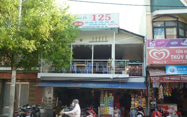 125 Hoàng Hoa Thám, P. 6 Quận Bình Thạnh TP. HCM