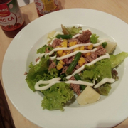Salad trong combo 1