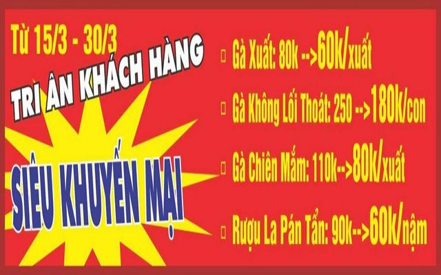 Tuấn Anh - Vua Gà Tươi Mạnh Hoạch ở Hà Nội