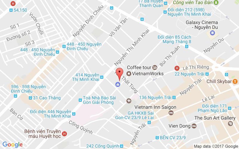 Bản đồ - Daebak Gogi BBQ - Ẩm Thực Hàn Quốc