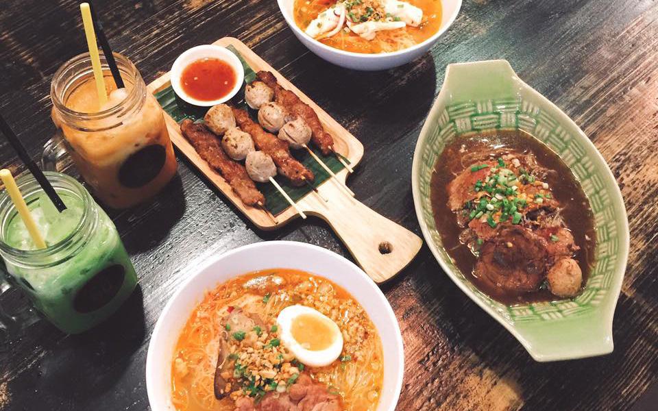 Gõ Thái Noodles - Mì Thái - Xuân Thủy
