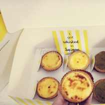 Whisk - Bánh Cheese Tart - Bitexco Tower
