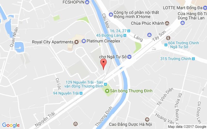Bản đồ - Octomaru - Octobar Nhà Hàng Bạch Tuộc Hàn Quốc - Royal City