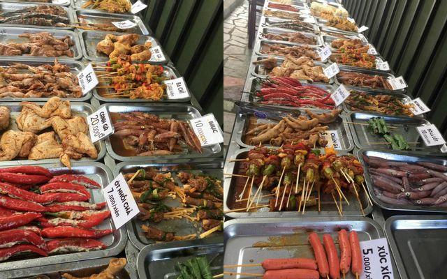 Khói BBQ - Nguyễn Khuyến ở Huế