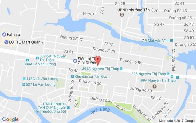 Bản đồ - Chick Kebabs - Nguyễn Thị Thập