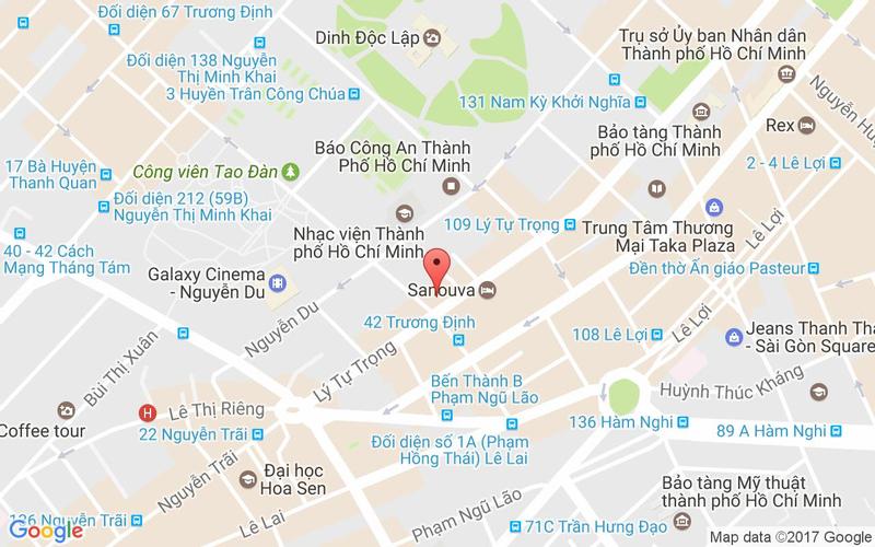 Bản đồ - Cocodak Restaurant - Gà Hàn Quốc