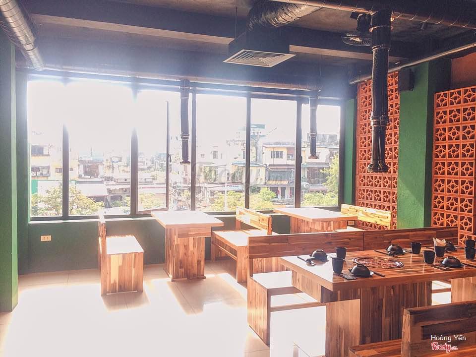 nhà hàng buffet lẩu nướng ngon ở Hà Nội_Geon Bae