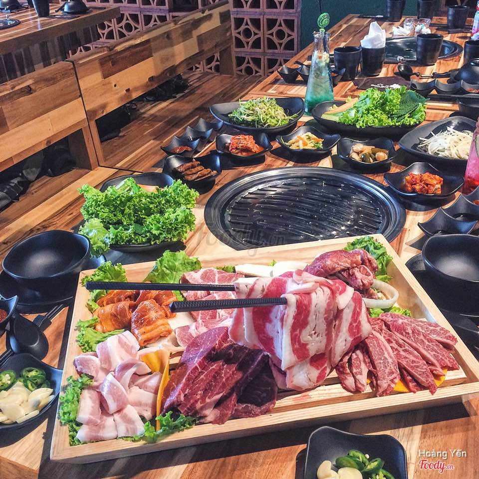 Buffet Nướng giá rẻ_Geon Bae
