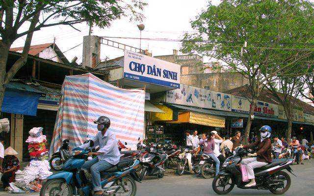 Chợ Dân Sinh ở TP. HCM
