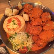 Gà gạo lức curry phô mai