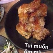 Gà ướp gạo lức sốt chua ngọt