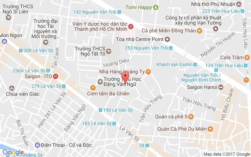 Bản đồ - Quán Cua Hoa