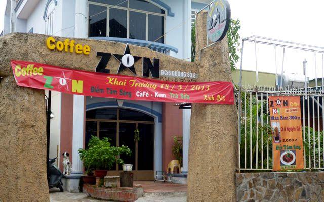 Cafe Zon - Không gian thiên nhiên, thức uống phong phú ở TP. HCM