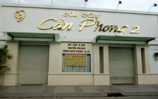 Cần Phong 2 - Nhà Hàng Tiệc Cưới ở TP. HCM