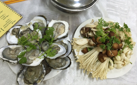 Đặc Sản Hào Sữa - Nguyễn Thượng Hiền