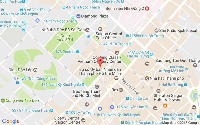 Bản đồ - Secret Garden - Vietnamese Restaurant & Tea House