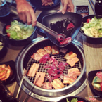 buffet nướng lẩu