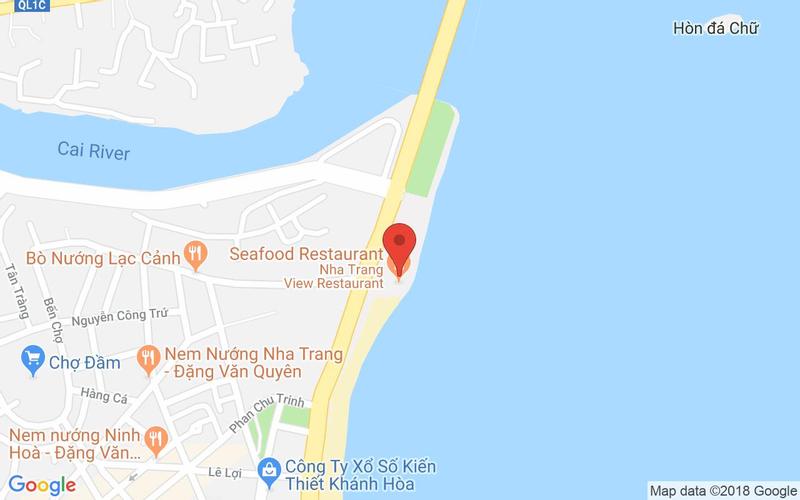 Bản đồ - Nha Trang View Restaurant - Hải Sản Tươi Sống