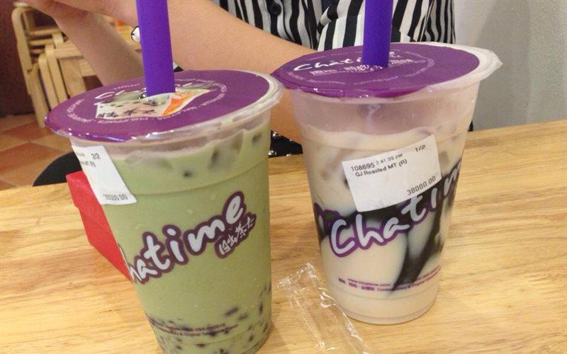 Chatime & ZenQ - Hàng Trống