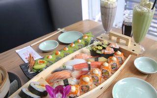 Ba Con Sóc - BBQ & Sushi - Hoa Lan