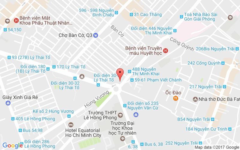 Bản đồ - Út Cà Mau - Đặc Sản Cua Biển - Nguyễn Thị Minh Khai