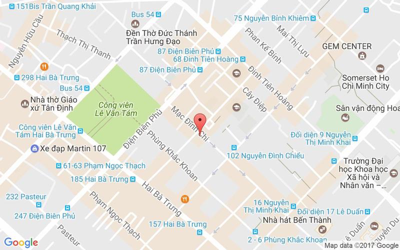 Bản đồ - The Street - BBQ & Beer - Mạc Đĩnh Chi