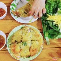 Bánh Xèo Tôm Nhảy Thanh Diệu - Ung Văn Khiêm