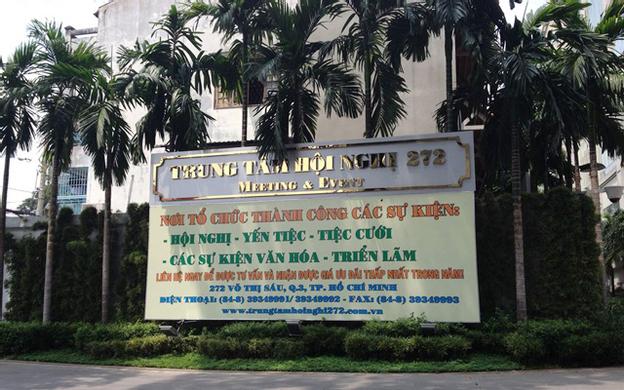272 Võ Thị Sáu Quận 3 TP. HCM
