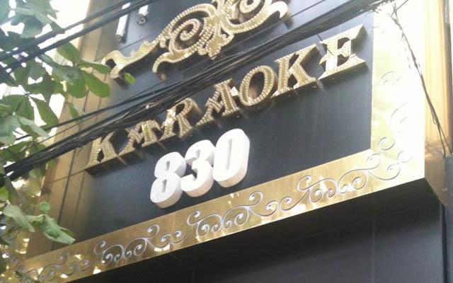 Karaoke 830 - Không Gian Âm Nhạc ở Hà Nội
