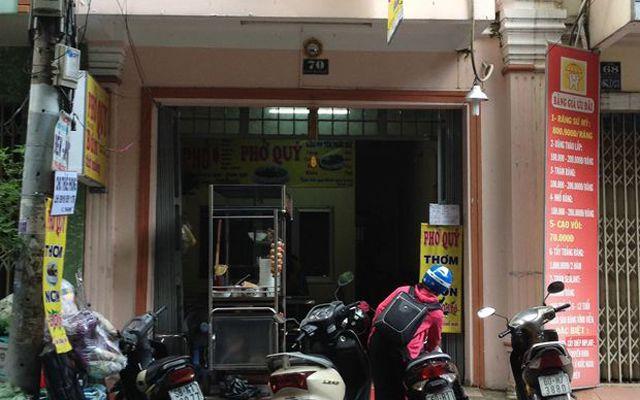 Phở Quý - Vũ Huy Tấn ở TP. HCM