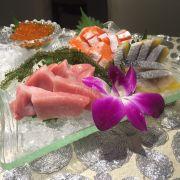 Belly sake / otoro/ kaki sashimi