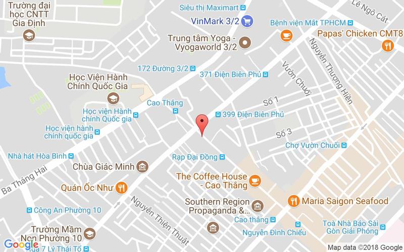 Bản đồ - Red House - Điện Biên Phủ