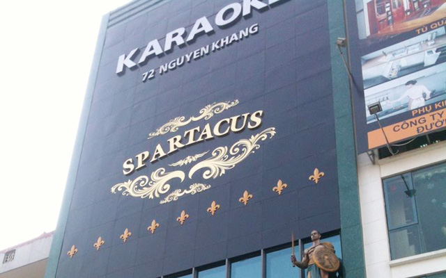 Spartacus karaoke ở Hà Nội