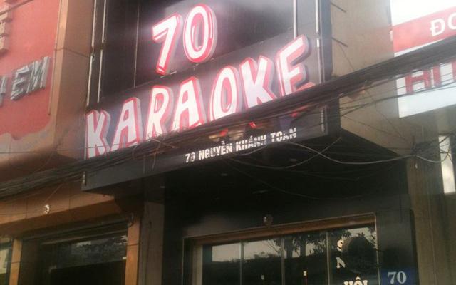 70 Karaoke ở Hà Nội